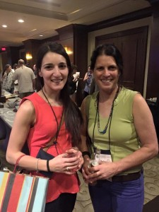 Yours truly (on right) and colleaugue at the recent 4th International Fascial Research Congress in Reston, VA held Sept. 17th-20th, 2015